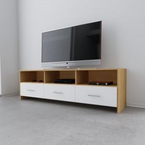 """TV Bank Eiche natur Modell """"Alexa"""""""