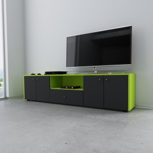 """TV Lowboard Limonengrün """"Cara"""""""