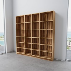 "Bücherregal Caribbean Walnut ""Elva"""
