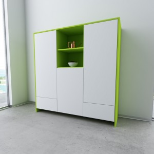 "Highboard Limonengrün ""Romeo"""