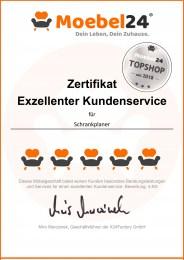 Top Shop Zertifikat Moebel24.de