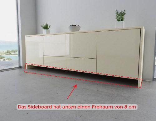 Planbeispiel Sideboard