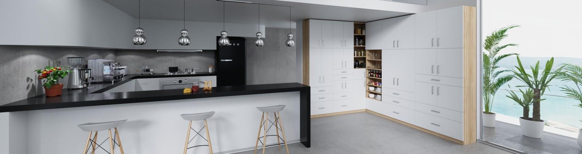 Küchenschrank zur Aufbewahrung maßgefertigt