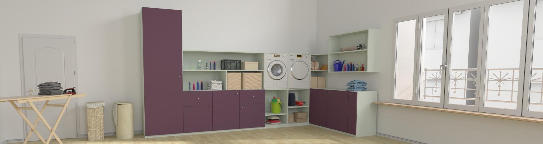 Möbel Maßanfertigung für die Waschküche